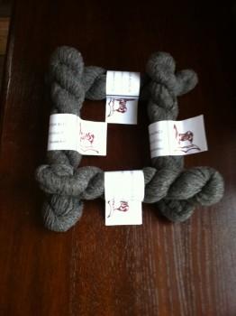 Yarn DK Charcoal Grey - crop