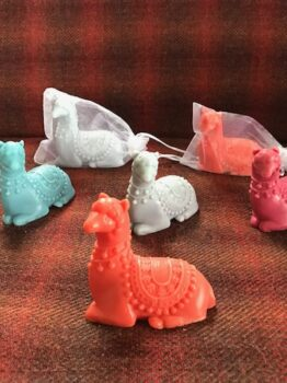 Different options available in Alpaca Soaps